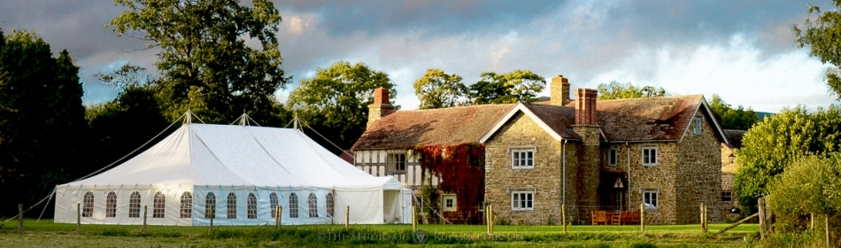 Henley Farmhouse with Marquee